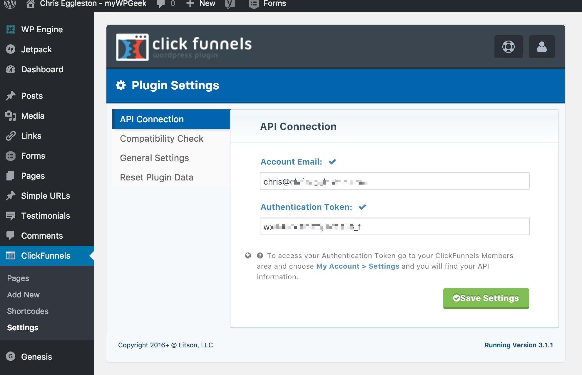 WordPress ClickFunnels Integration